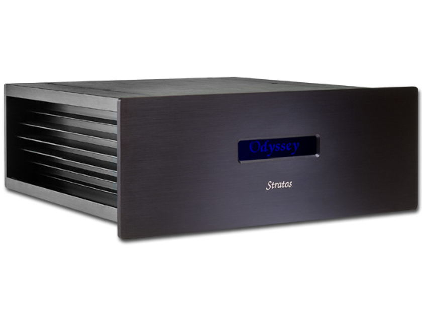 Odyssey Audio Stratos+ New guts -Hot rodded 180wpc Stereo Power Amp.