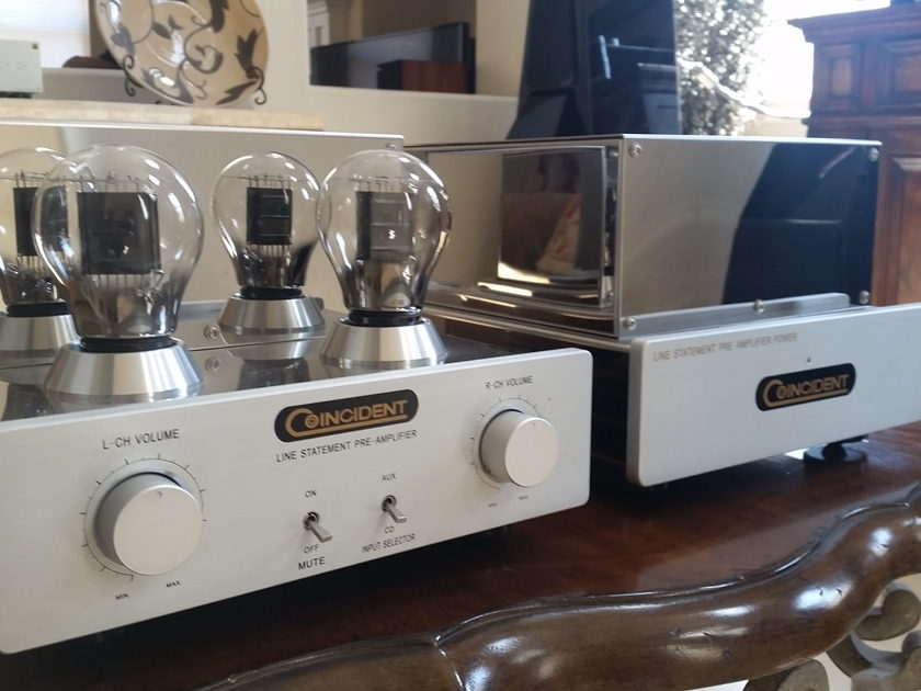 Coincident Speaker Tech Statement Line Stage Preamp