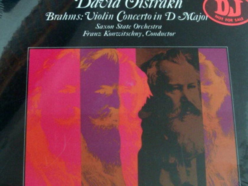 ★Sealed★ Helidor / OISTRAKH, - Brahms Violin Concerto, Promo Copy!