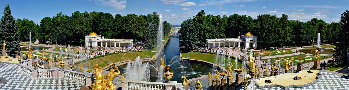 Обзорная экскурсия для школьников по Петергофу