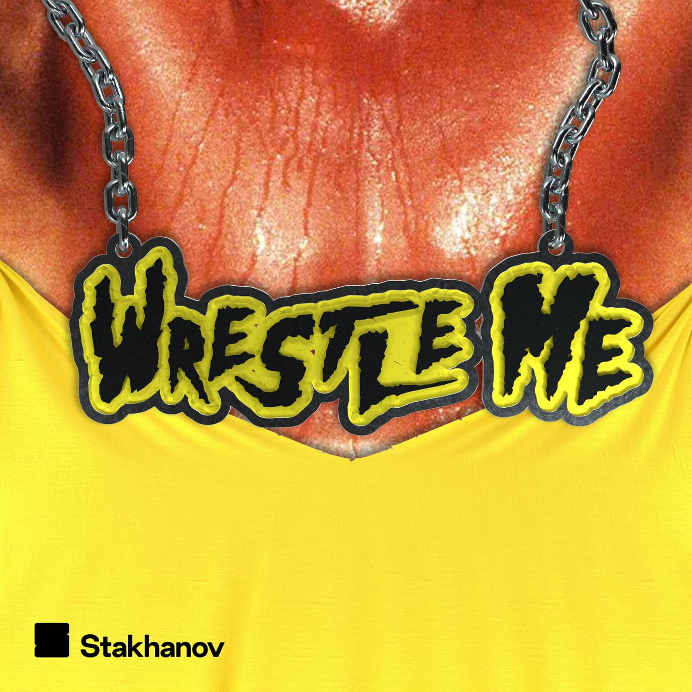 The artwork for the Wrestle Me podcast.