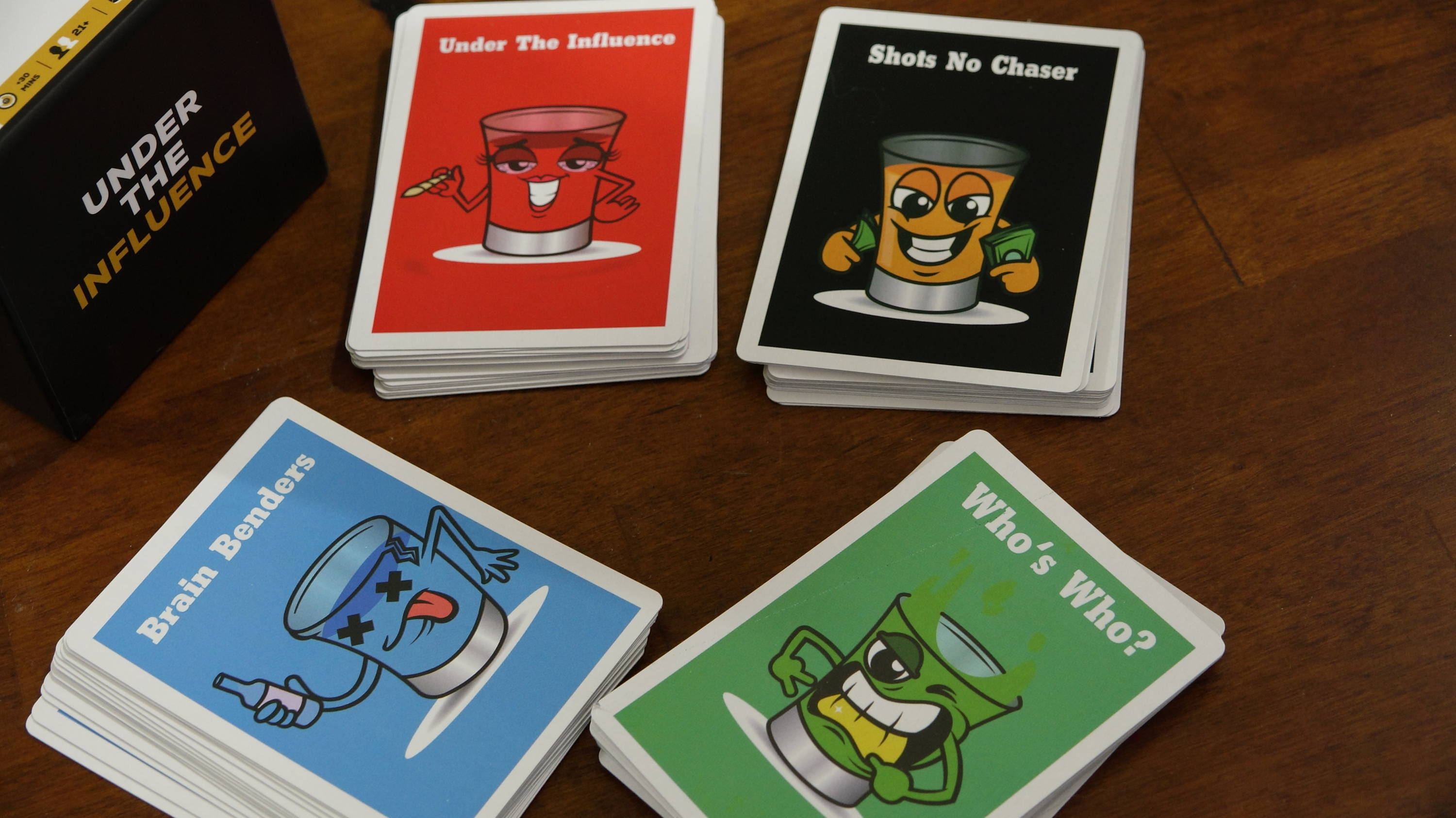Under The Influence Card Game, Driking Card Game, Party Game