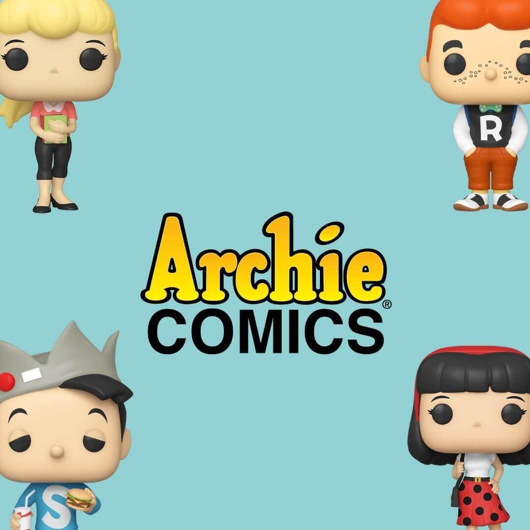 Archie Andrews, Archie Comics, Bobble head, funko, under-1000,  Jughead Jones, Betty Cooper, Veronica Lodge