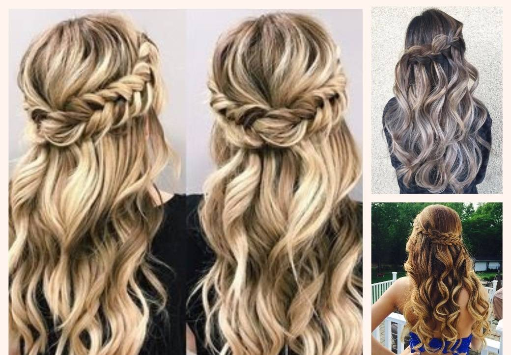Loose hairstyles with hair extensions