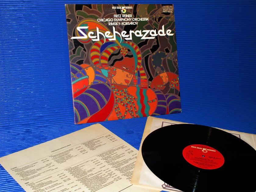 "RIMSKY-KORSAKOV / Reiner   - ""Scheherazade"" -  RCA .5 Series Audiophile 1982"