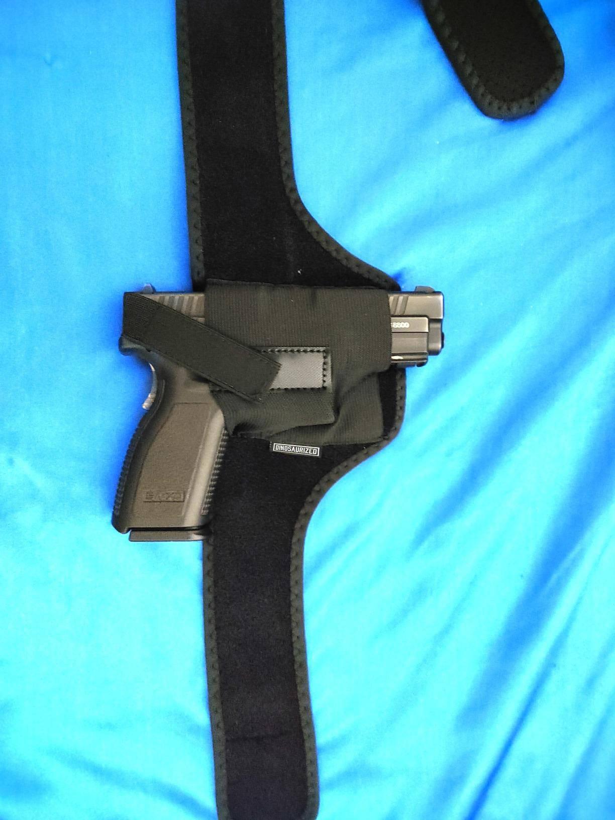 shoulder holster review, tactical shoulder holster, best vertical shoulder holster