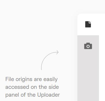 File origins are easily found