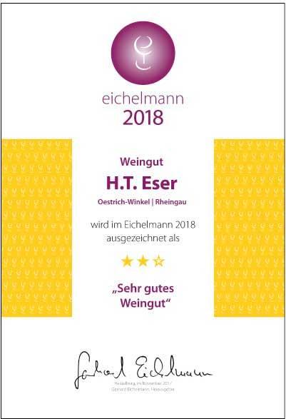 Brueder Eser Urkunde Eichelmann 2018