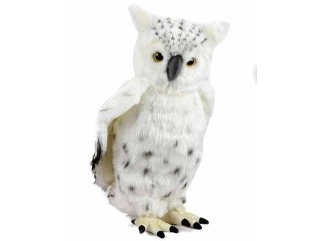 HANSA Life-like Stuffed Animal - Snow Owl