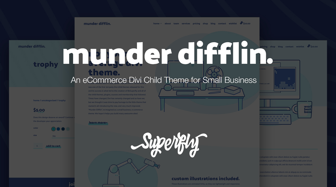 Munder Difflin eCommerce Child Theme