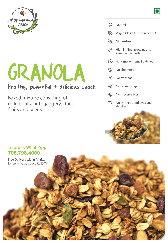 Granola Fact Sheet