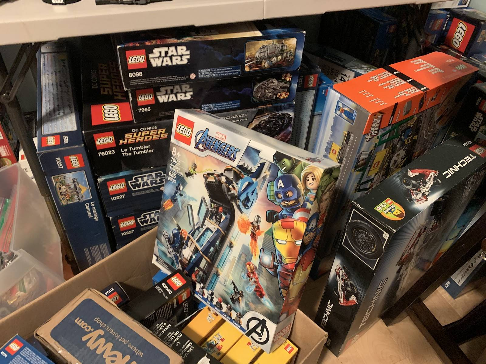 reselling lego