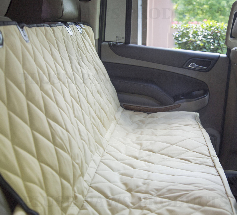 Plush Paws Products Ultra-Premium Velvet Pet Seat Cover