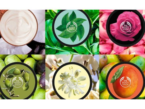 Cruelty Free Beauty!  Pair of The Body Shop Gift Boxes