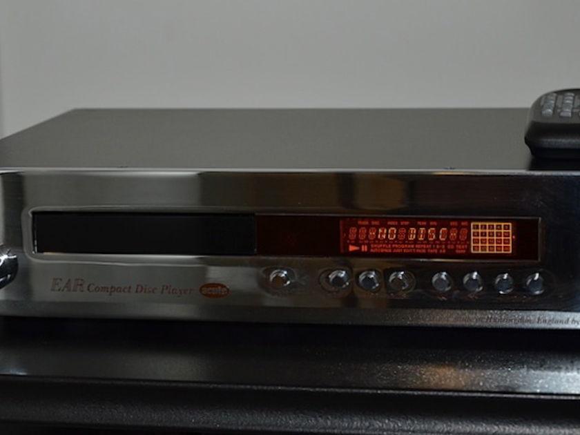 EAR Acute Tube CD Player (chrome)