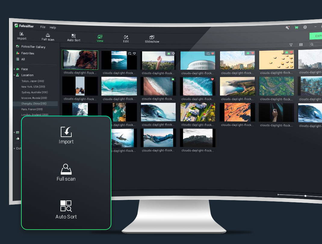 Import and Sort All Your Photos in Fotosifter