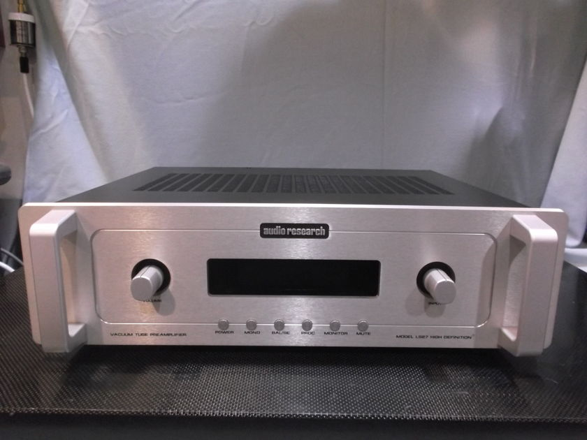 Audio Research LS 27 Tube Preamplifier