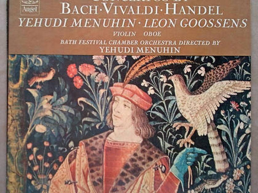 Angel/Menuhin/Concertos - by Bach, Vivaldi, Handel / NM