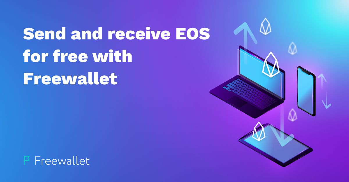 EOS withdrawals are live on Freewallet