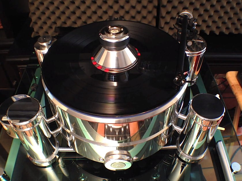 """ACOUSTIC SOLID ~ ROYAL ~ """"World-Class"""" 110 lbs. German-made beast w/Discovery Cable rewired WTB300 [ Rega OEM ]"""