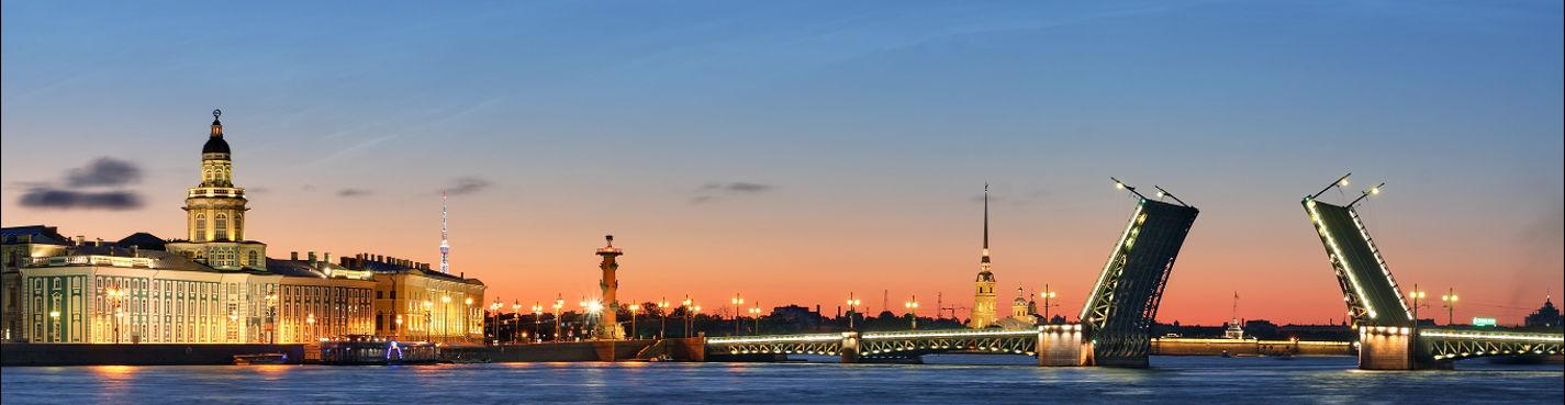 Ночная прогулка по Петербургу