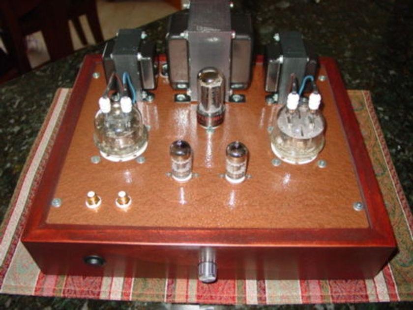 832 Stereo Tube Amplifier Push-Pull 832 tube amplifier 14 Watts hand built