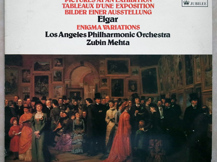 Decca/Mehta/Elgar - Enigma Variations, Mussorgsky-Ravel Pictures At An Exhibition ... / NM