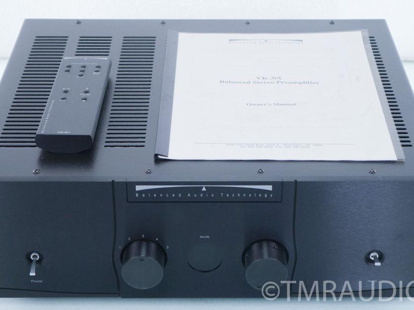Balanced Audio Technology  VK-3ix Tube Preamplifier;  BAT; Upgraded (8141)