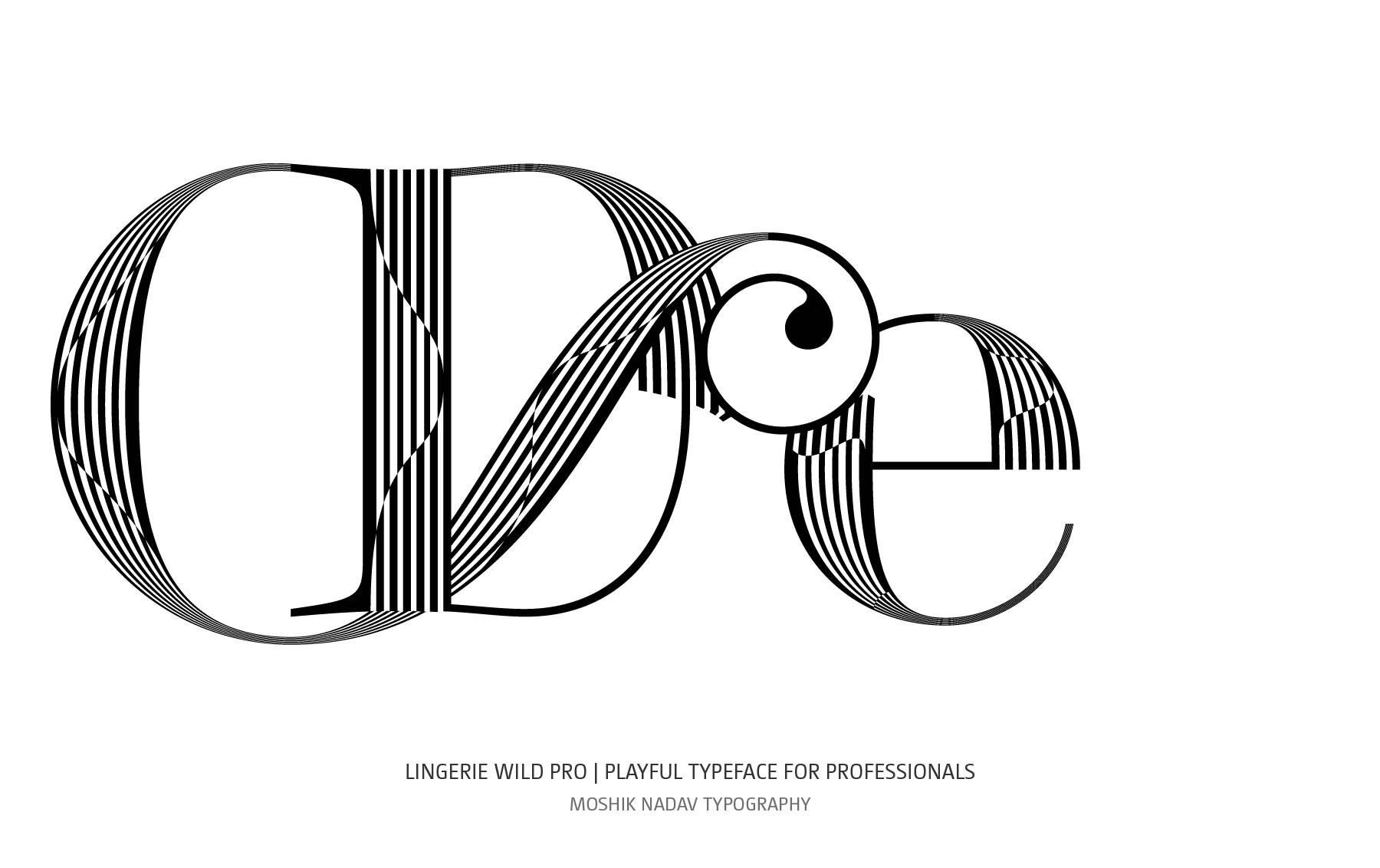 Cool De ligature by Moshik Nadav Typography