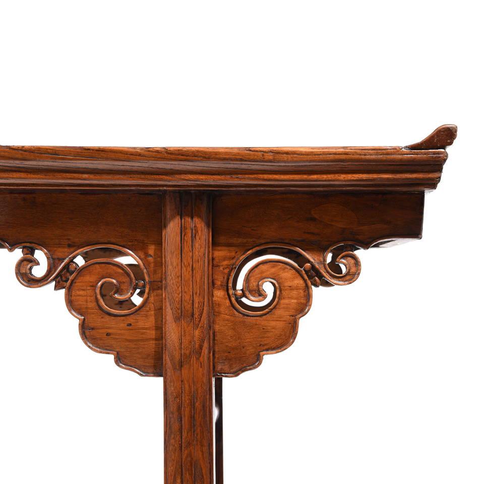 Shop Chinese Antique Furniture & Antiques - Black Lacquer Antique Chinese Altar Table | Indigo Antiques