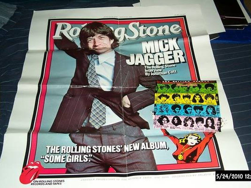 Rolling Stones - Promo Some Girls poster 1978
