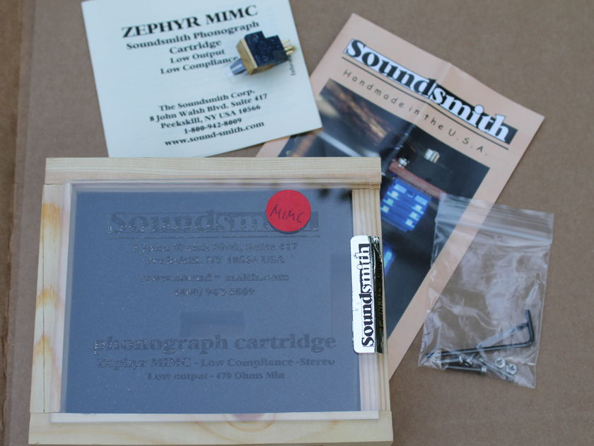 Soundsmith Zephyr MIMC Low Output - Orig. Owner - 3.75 hrs.