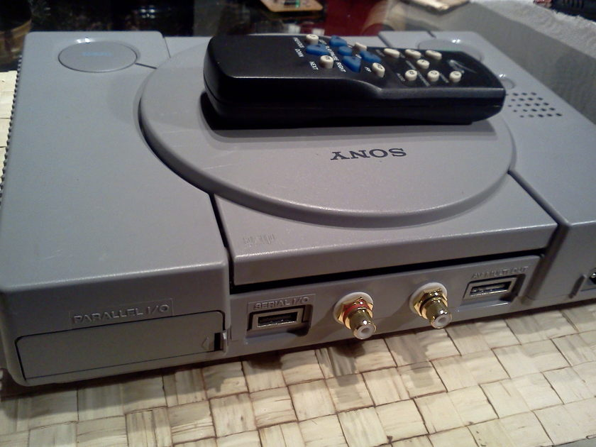 Sony PS-1 SCPH-5501 Modified CD Player