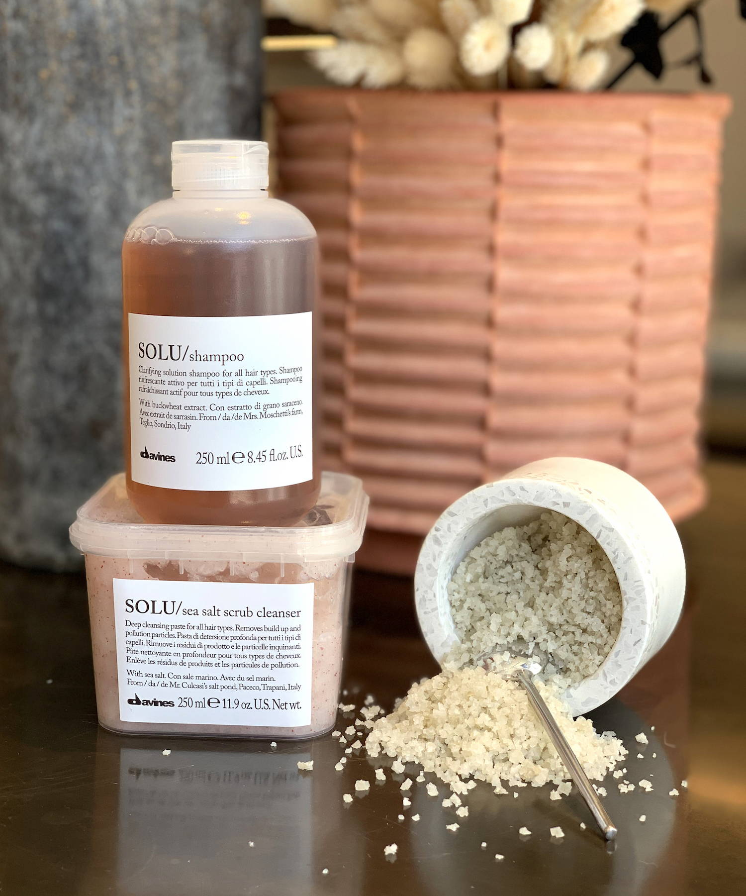 Davines Solu family of products