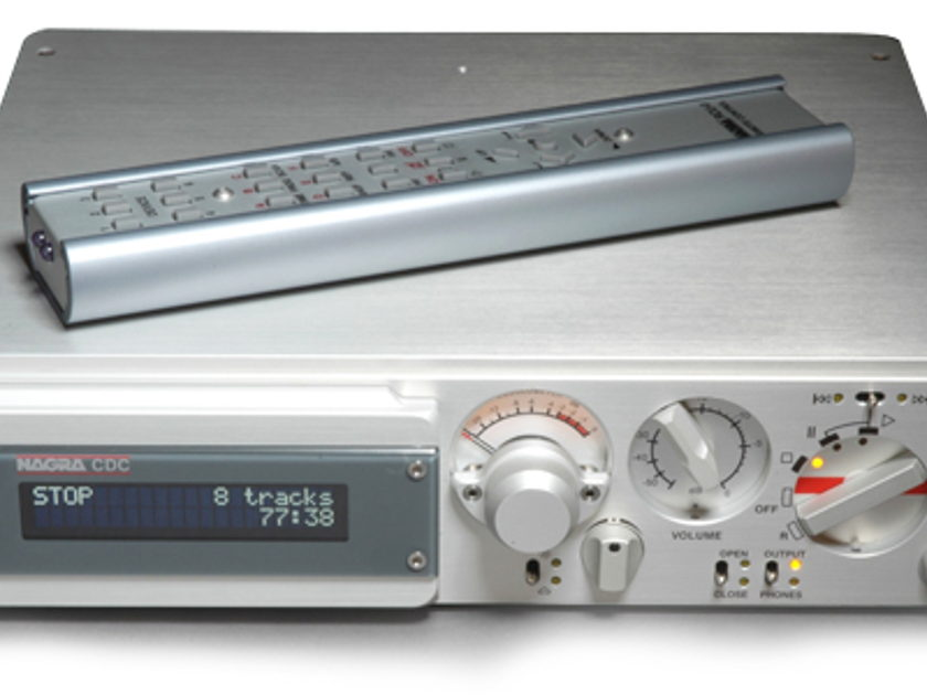 Nagra CDC CD-preamps brand new