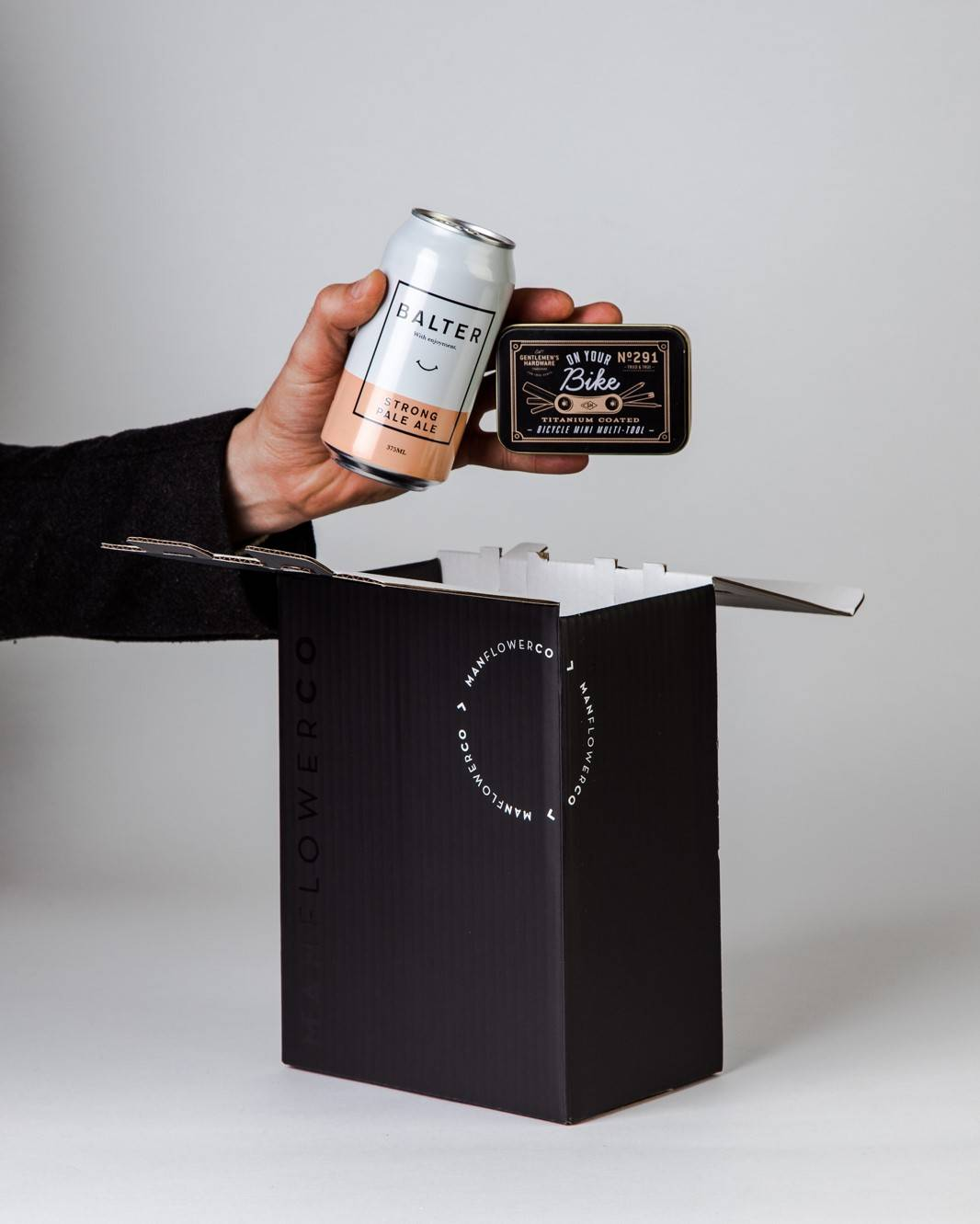 Bike Tool + Beer, part of Manflower Co's range of Father's Day Gifts.