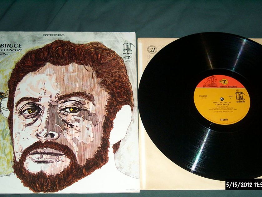 Lenny Bruce - The Berkeley Concert 2 LP Frank Zappa