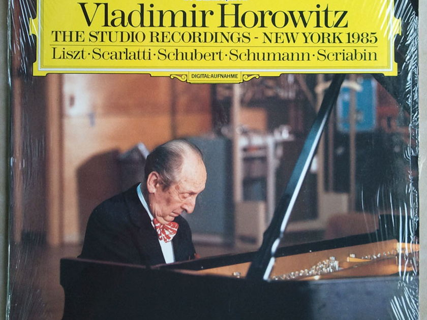 DG Digital /Horowitz - - The Studio Recordings - New York 1985 / NM