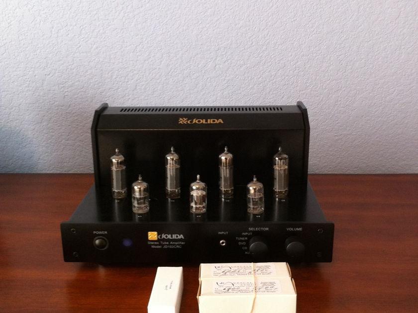 Jolida JD 102CRC includes extra NOS tubes