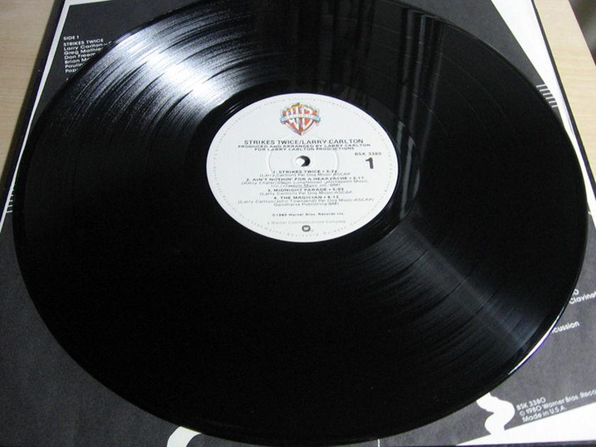 Larry Carlton - Strikes Twice - 1980 - Warner Bros. Records BSK 3380