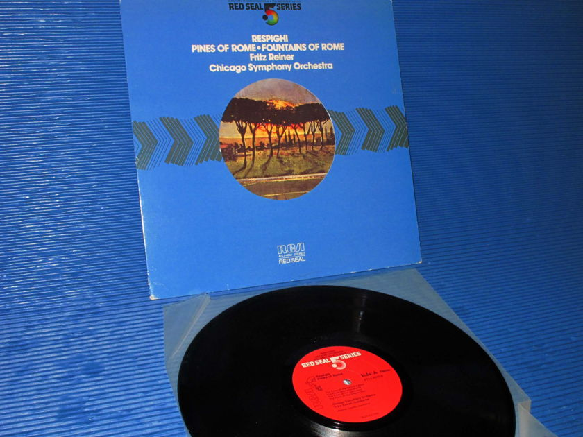 """RESPIGHI / Reiner  - """"Pines of Rome - Fountains of Rome"""" -   RCA .5 Series 1981 promo Audiophile"""
