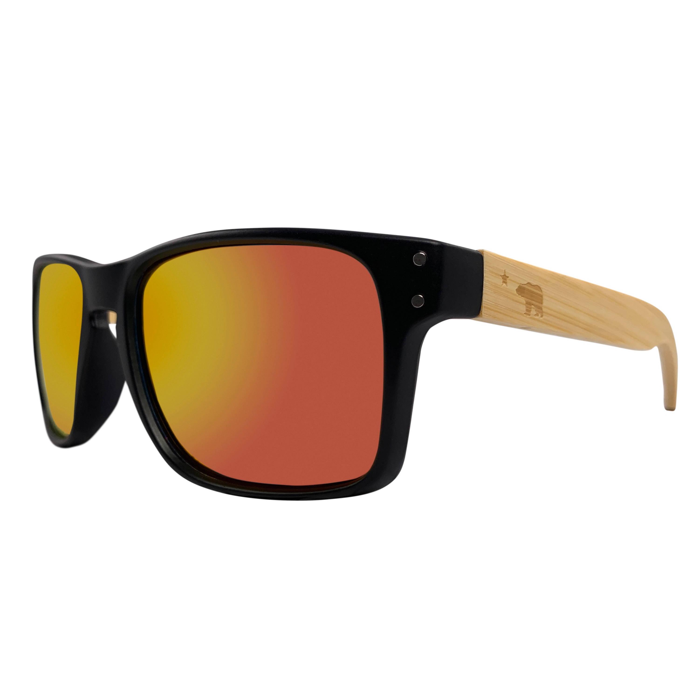 Volcanic Polarized Bamboo Sunglasses