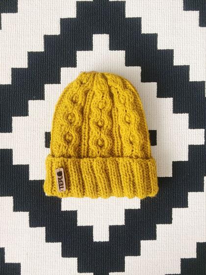 Тёплая шапочка PLAITED