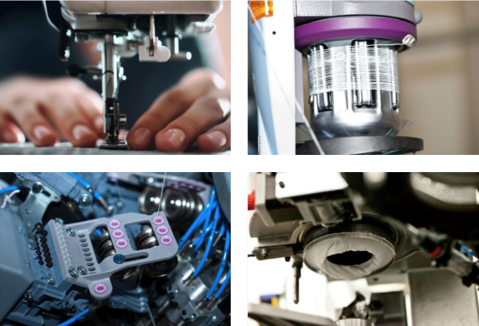 Various production and manufacturing devices