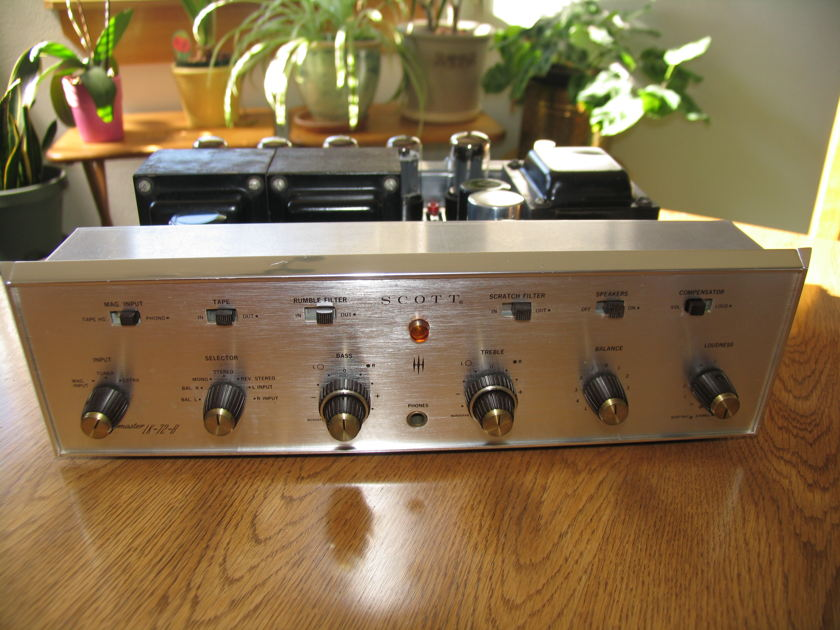 H.H. Scott LK-72-B  LK-72B Recapped & Sounds great!