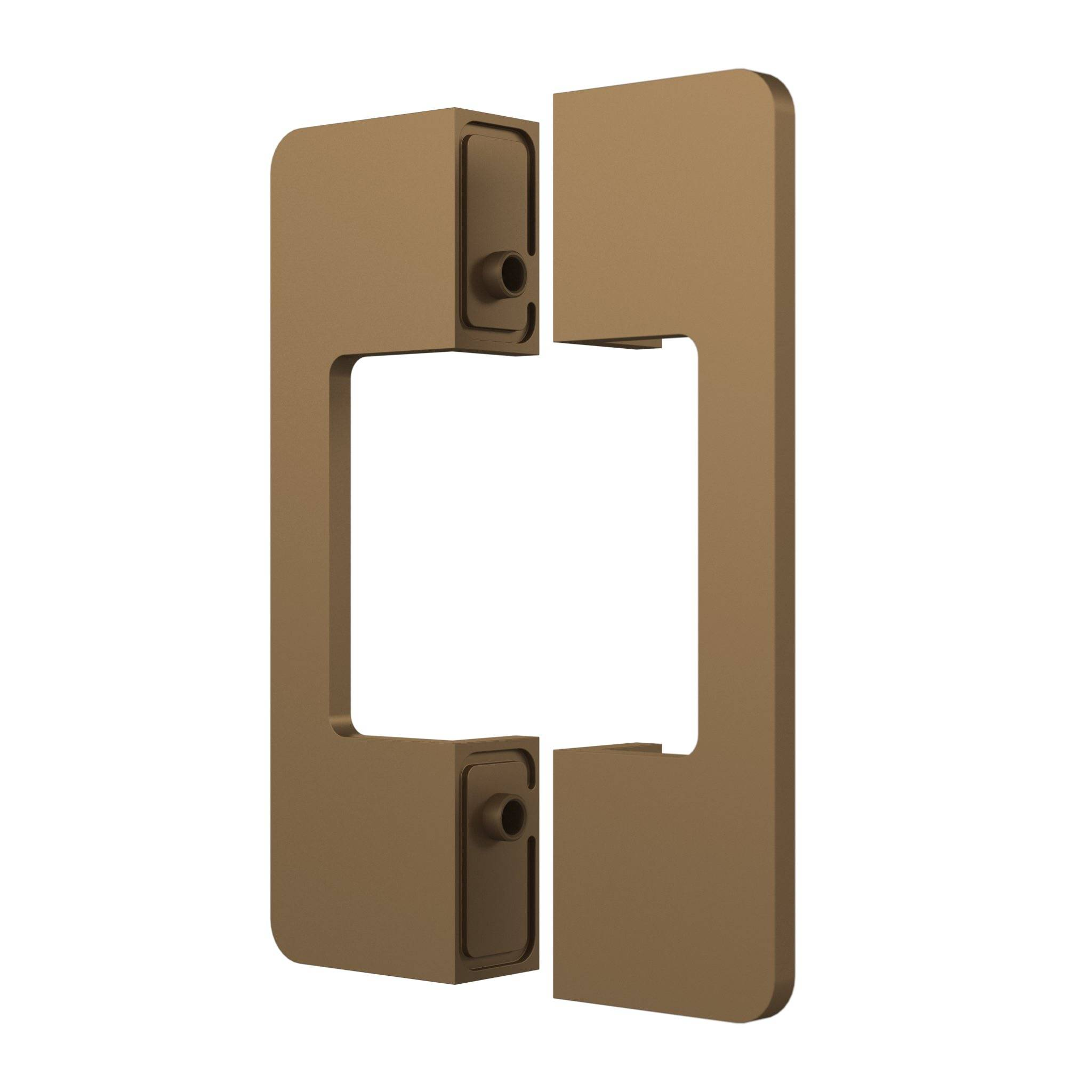 Glass and aluminium sliding door system – Portapivot