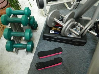 assorted weight sets