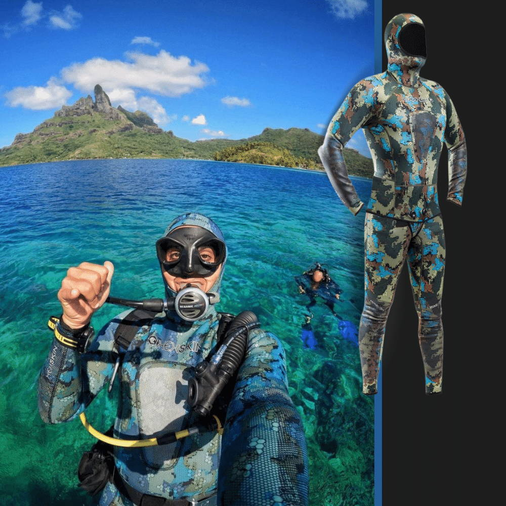 camoflage wetsuits