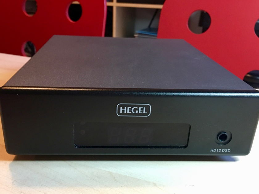 Hegel HD-12 DAC, in excellent condition