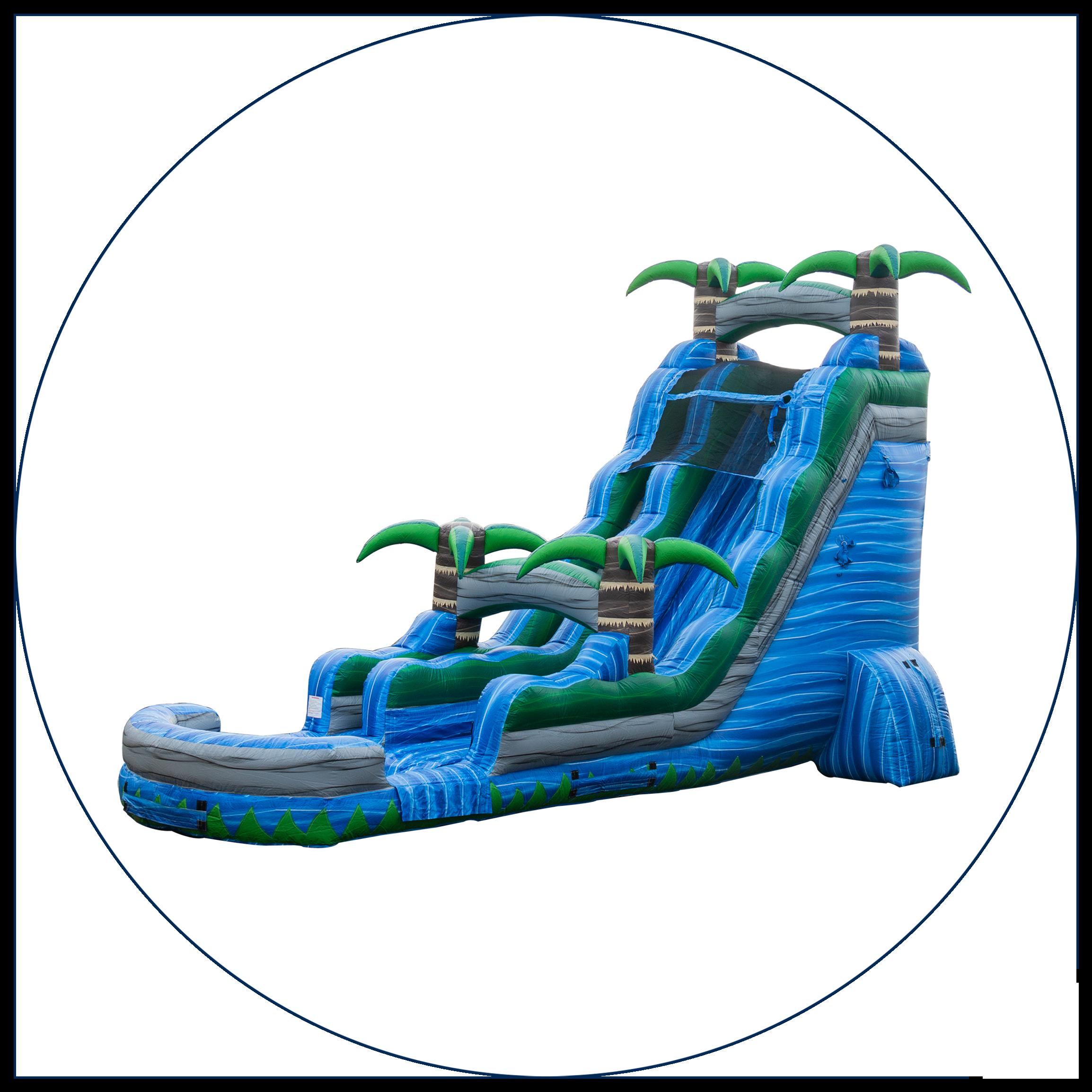 22 Ft. Water Slides
